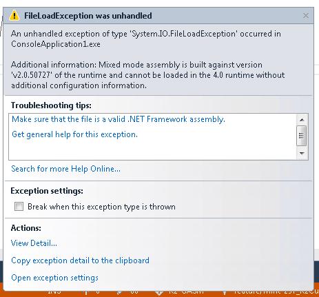 fileloadexception