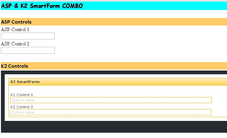 Combining ASP Net form with K2 Smartform using IFrame – Uncode K2
